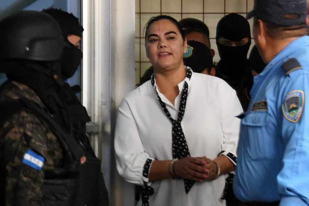 captura primera dama honduras